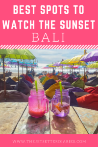 Best spots to watch the sunset in Bali